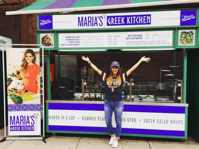 "Maria Menounos opens pop up ""Greek Kitchen"" in Boston 23"