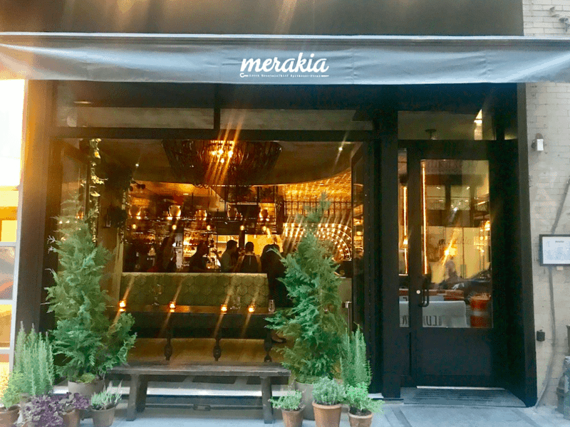 Stylish Greek Psistaria opens up in New York's Flatiron District 8