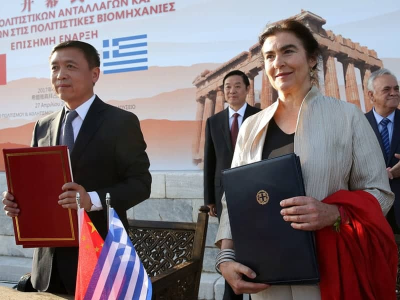 Greece – China: New Cultural programmes launched 4