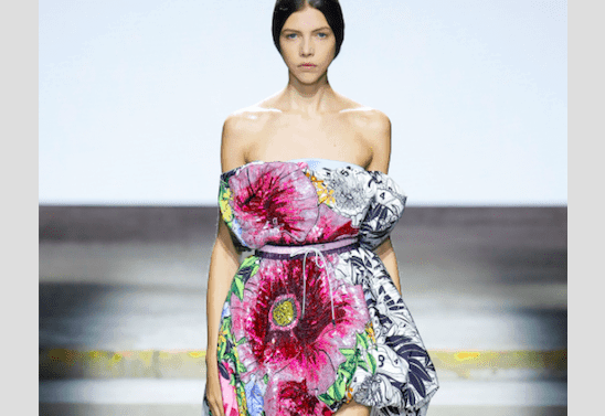Mary Katrantzou wows crowd & critics at SS18' London Fashion week 22
