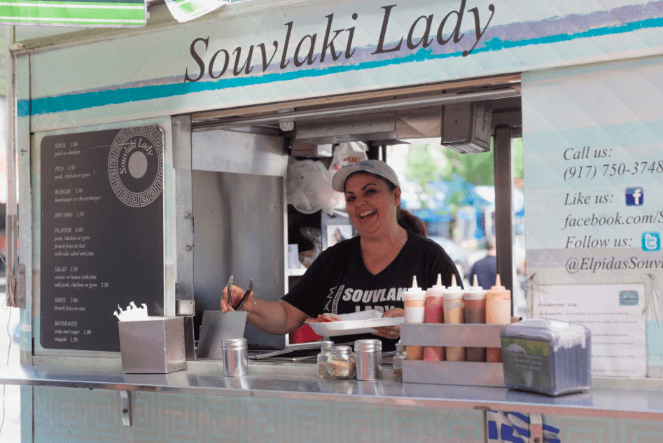 Astoria's Souvlaki Lady, serving New Yorkers Greek Street Food for 30 years 19