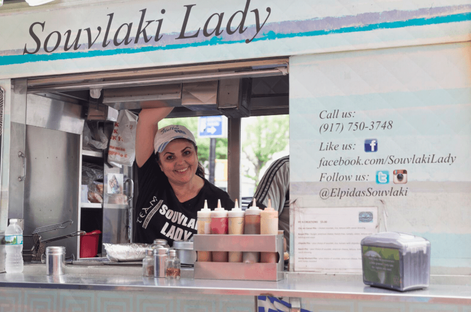 Astoria's Souvlaki Lady, serving New Yorkers Greek Street Food for 30 years 5