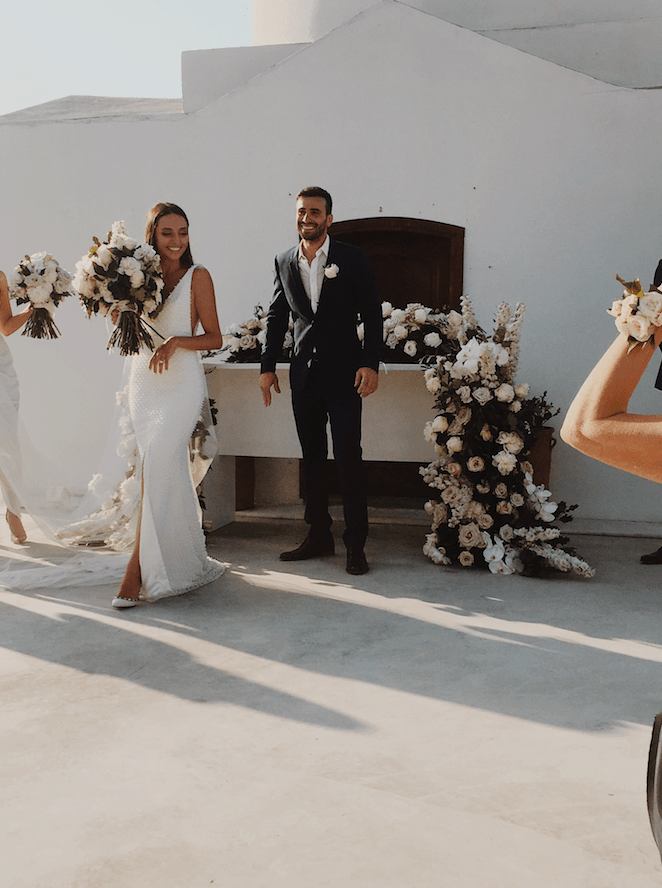 Paulina and Anastasi's stunning Greek island wedding 13