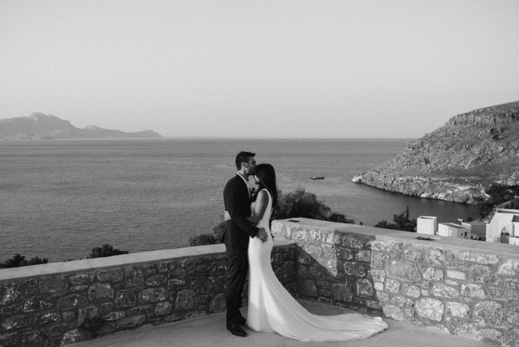 Paulina and Anastasi's stunning Greek island wedding 11