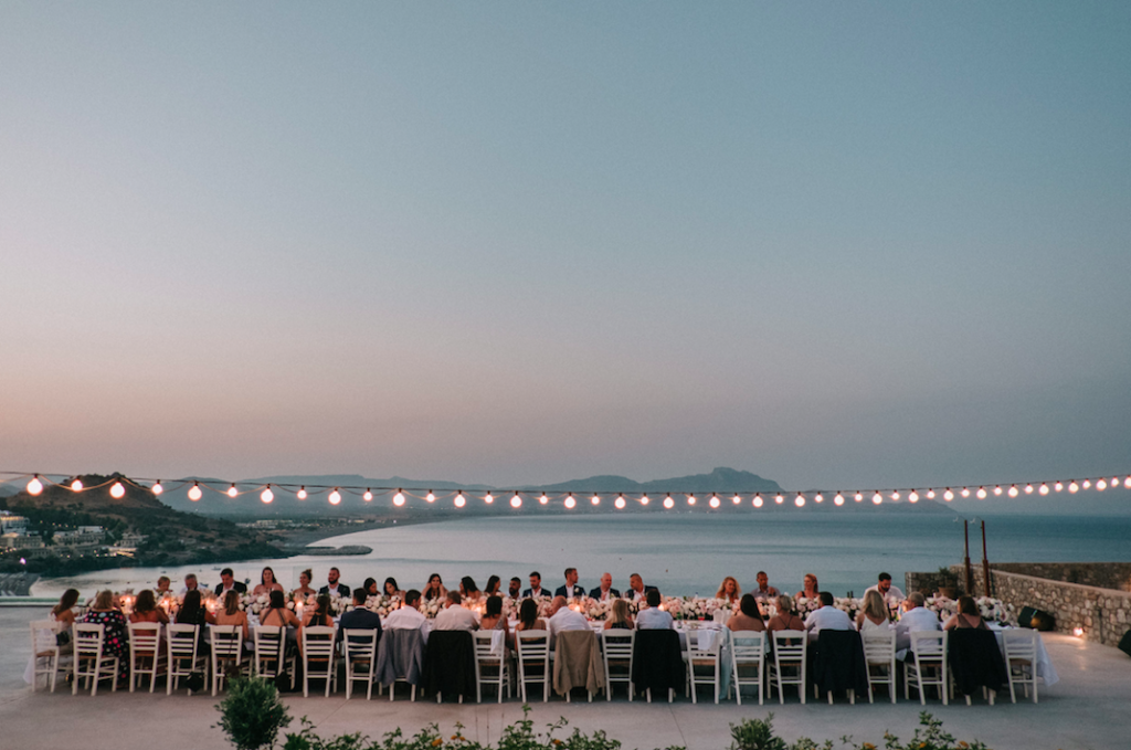 Paulina and Anastasi's stunning Greek island wedding 14