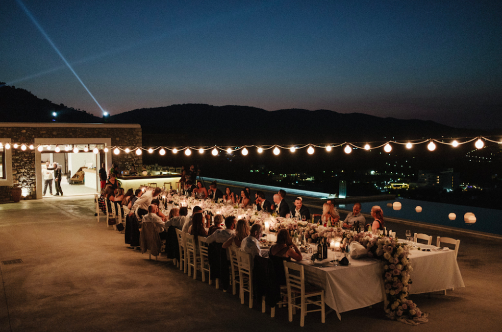 Paulina and Anastasi's stunning Greek island wedding 15
