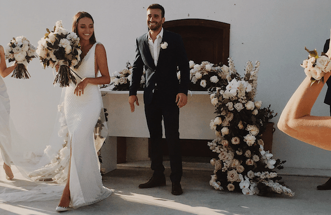 Paulina and Anastasi's stunning Greek island wedding 85