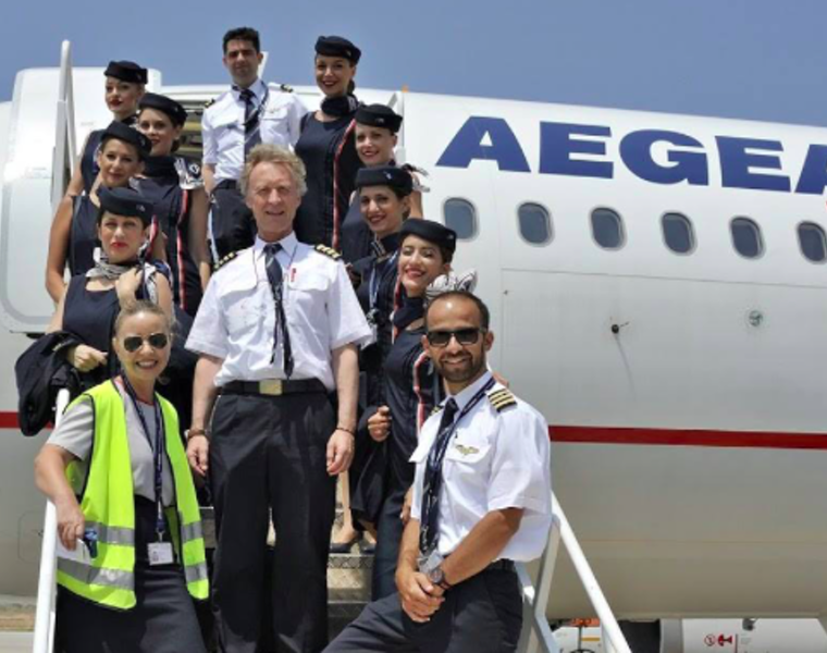 AEGEAN named 'Europe's Leading Regional Airline' 23