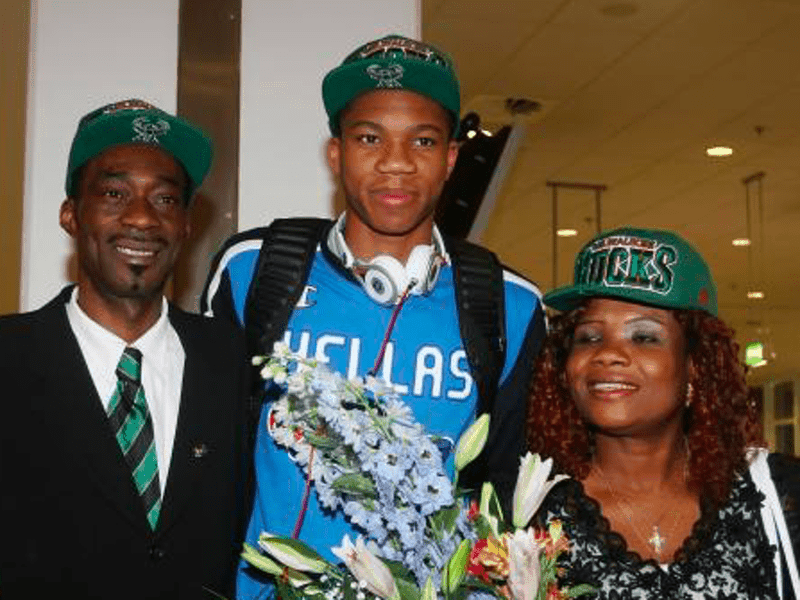 Giannis Antetokounmpo's father Charles, dies aged 54