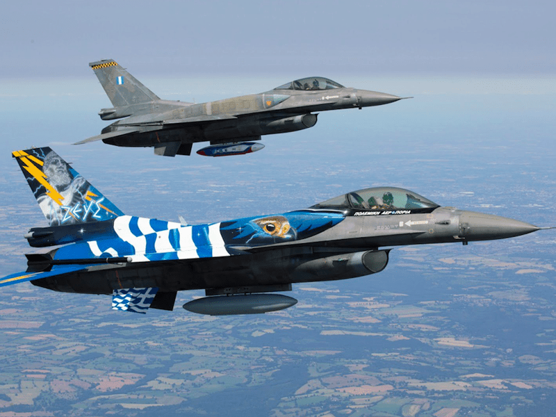 Greek fighter jets flying in for upgrade 6