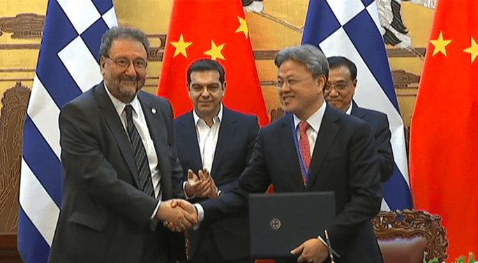 Greece and China sign off on major deals 7