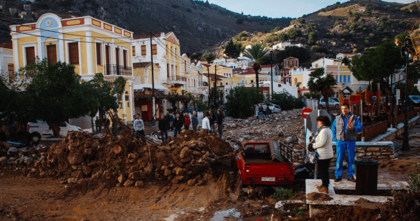 Emergency declared on the island of Symi 10