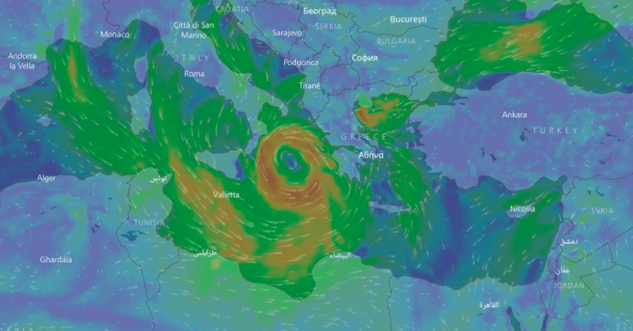 'Medicane' rare storm could hit Greece with wild winds 29