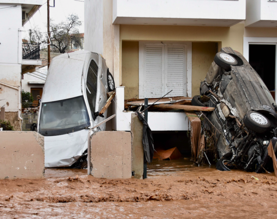 Flash Floods Kill 15 on Western Outskirts of Athens 4