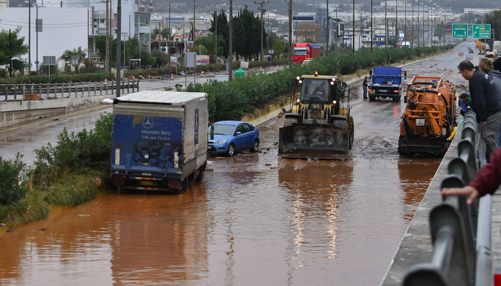 Flash Floods Kill 15 on Western Outskirts of Athens 6