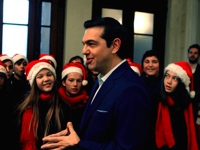 Greek PM in Serbia for Christmas 21