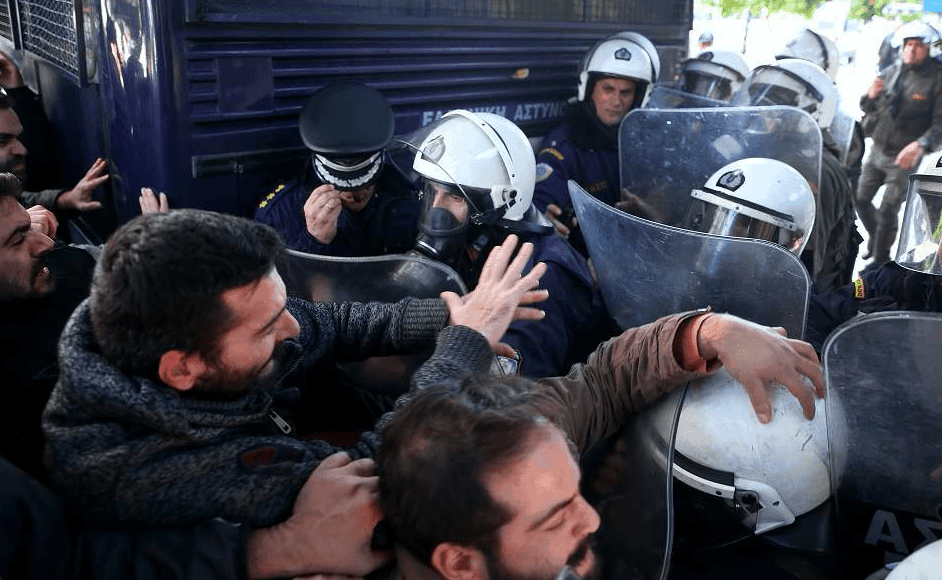 Riots in Athens
