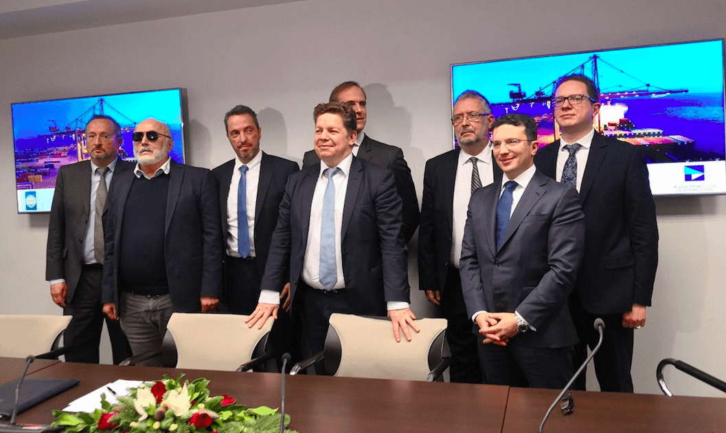 Consortium of interests buy up 67% of Thessaloniki Port Authority 1