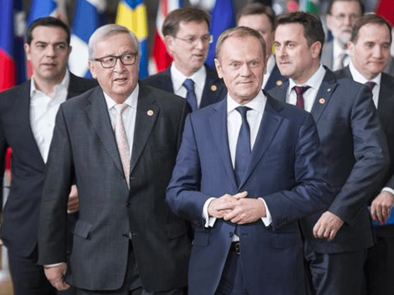 EU Summit overshadowed by row over migrant quotas 1