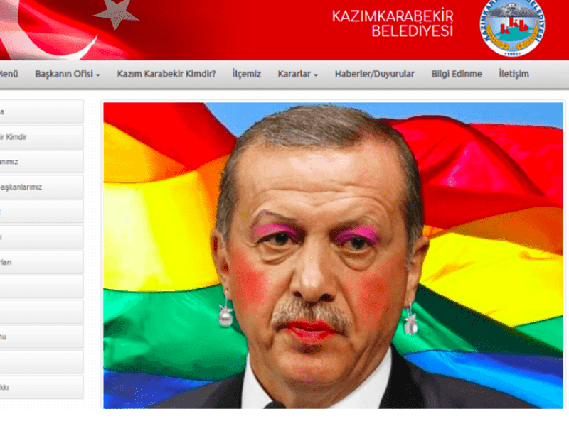 'Anonymous Greece' claims responsibility for hacking Erdogan's official website 11