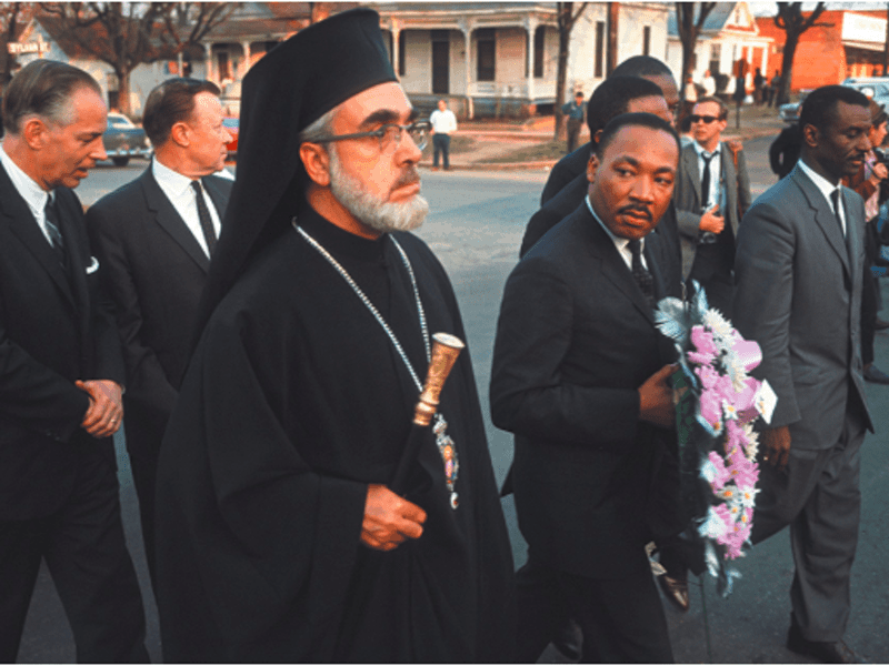 Greek Orthodox Archdiocese of America take part to end Racism 6