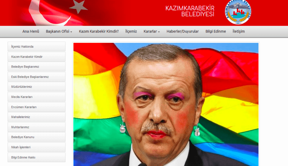 Erdogan cyber hack