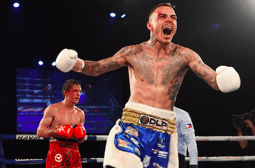 """George 'Ferocious' Kambosos Jr is a 24 year old professional boxer who is known as 'Ferocious' for his style in the ring, the way he trains andthe mentality he brings on his opponents leading intofights. This has earned him many titles including being ranked 5th in World Boxing Association, 13th in the World Boxing Organization for the Lightweight In The World category, World Boxing Association Oceania Champion, International Boxing Federation Pan Pacific Champion and Australis's number 1. """"When people watch my fights they'll see theintensity, theaggression, the savagery Iinflict on my opponents which can only be defined as FEROCIOUS."""" George got into the sport of boxing at the age of 12 to help his fitness, as he was playing junior rugby league. It also benefited him inlosing weight as he was an overweight 12 year old kid at 60kg, who was shy, not confident and bullied at school. Today, as an elite professional boxer rated number 5 in the World and number 1 in Australia, he is the most focused fighter in the world, with a very intense training routine. Everyday, 2 to 3 sessions of training is a must for George, where he starts early mornings hitting the streets with intense roadworkanywhere between 8-12kms. Later, his midday sessions focus on strength, condition andperformance sessions which involve a widerange of different training methods to make the body strong,fast and dynamic. Before the final session of the day which is boxing, he rests and sleeps. He focuses on the game plan leading into his fights, mastering his combinations, his footwork and his angles. For the boxing training session, George notes that he does many rounds which include shadow boxing, pad work, sparring,heavy bags, floor to ceilings and speedballs. In between all his sessions and in his daily life he also keeps a very healthy and clean diet routine, which helps when training at an elite level. When asked what his favourite strike is to use in any fight, he replied """"as a boxer you must enjo"""
