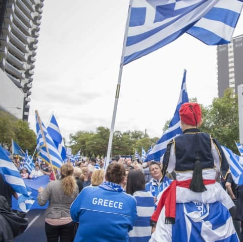 'Macedonia is Greece' Rally in Melbourne, Australia 55