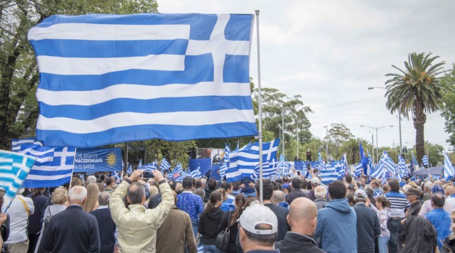 'Macedonia is Greece' Rally in Melbourne, Australia 30