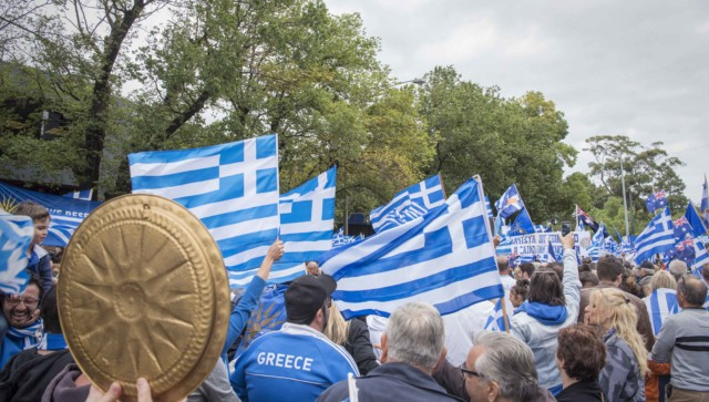 'Macedonia is Greece' Rally in Melbourne, Australia 46