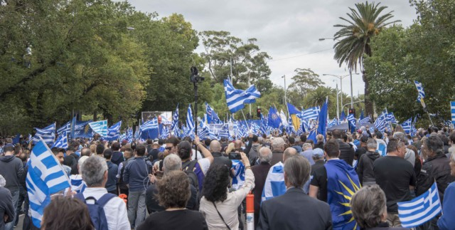 'Macedonia is Greece' Rally in Melbourne, Australia 22