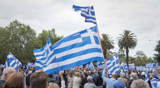 'Macedonia is Greece' Rally in Melbourne, Australia 9