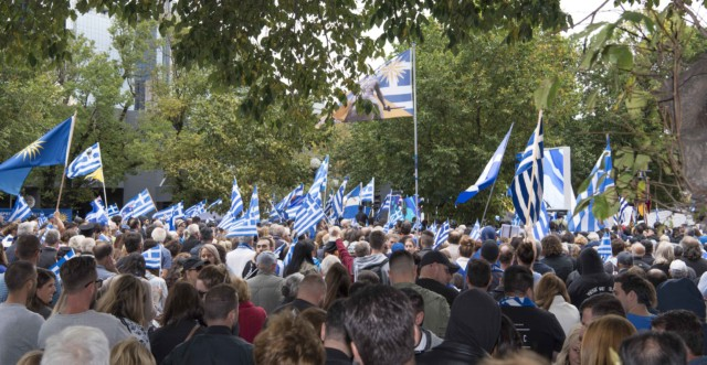 'Macedonia is Greece' Rally in Melbourne, Australia 8
