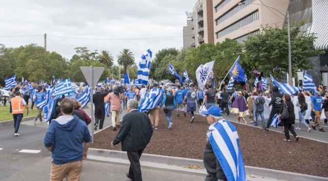 'Macedonia is Greece' Rally in Melbourne, Australia 41