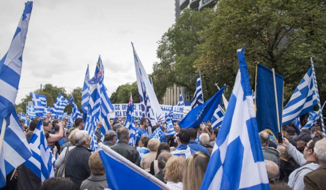 'Macedonia is Greece' Rally in Melbourne, Australia 38