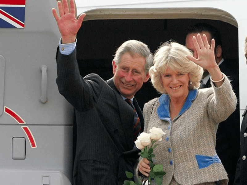 Prince Charles & Duchess Camilla's historic visit to Athens 11