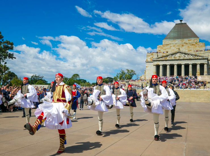 Evzones leave Melbourne's Greek Community on a high 49