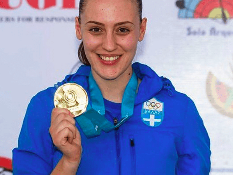 Anna Korakaki wins Gold for Greece in Mexico World Cup 7
