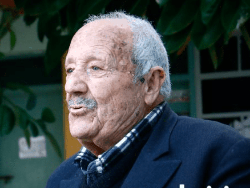 91-year-old Cretan man, eldest student in Greece 5
