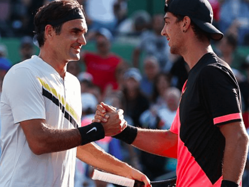 Greek Australian Kokkinakis knocks no 1 Federer out of Miami Open 1