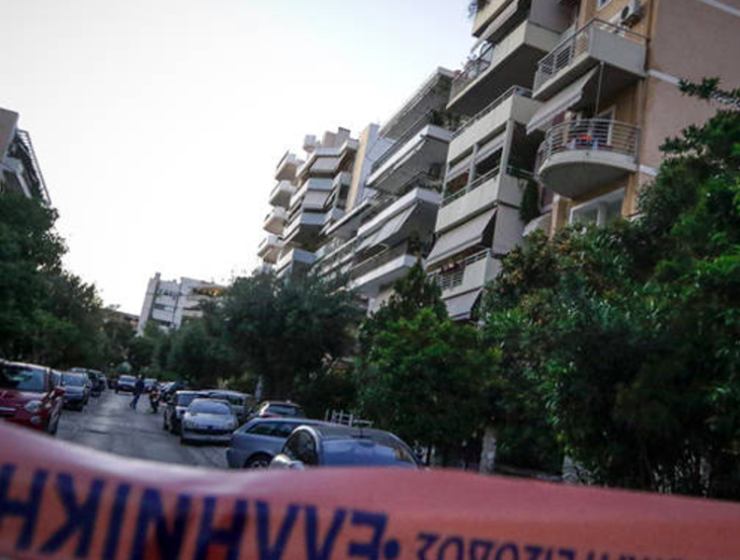 Newborn baby boy found dead outside Athens apartment 5