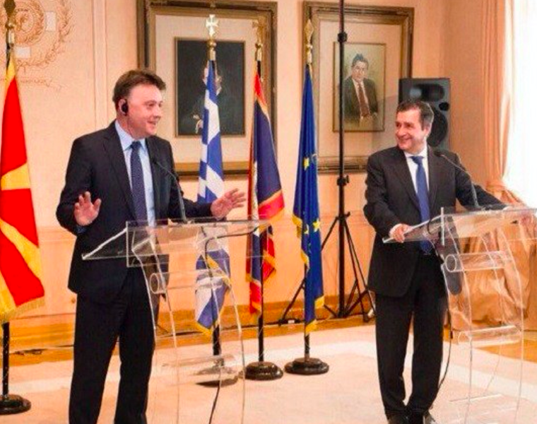 Greek FM in Brussels for NATO, Athens mayor en route to Skopje 35