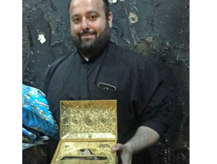 Miracle as Holy Relics remain safe in St Panteleimon Church fire 93