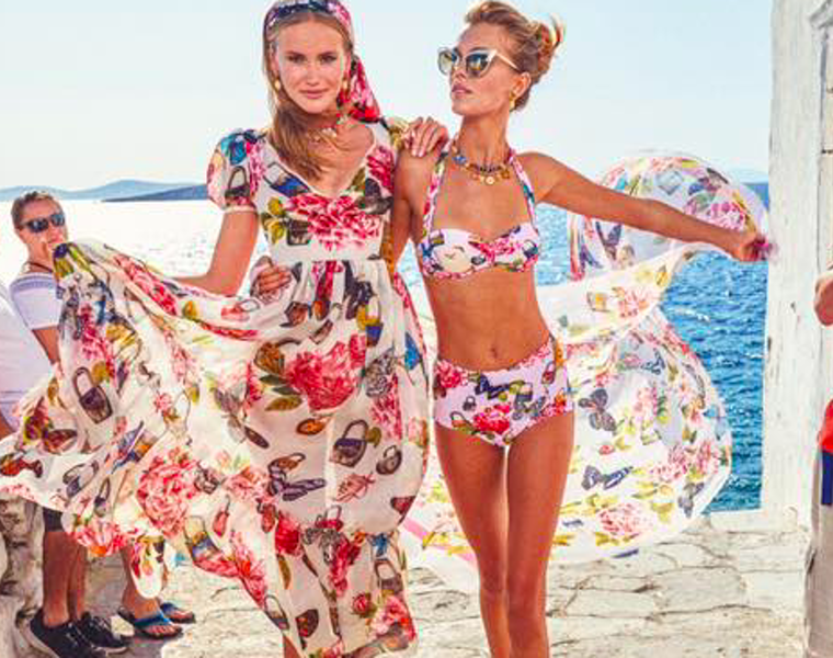 Mykonos becomes Dolce & Gabbana's hot location spot for Spring Summer '18 17