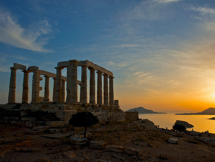 Greece's Central Archaeological Council approves BBC series shoot at Temple of Poseidon 24