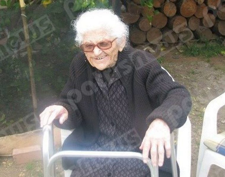 112-year-old Greek lady, now oldest woman in the world 8