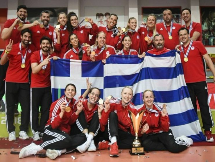 Olympiacos beats Turkey and become European Champions 27
