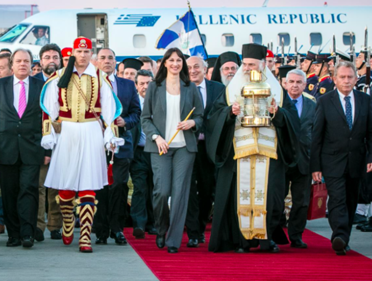 Holy Flame to arrive in Athens & transferred by Aegean across Greece 12