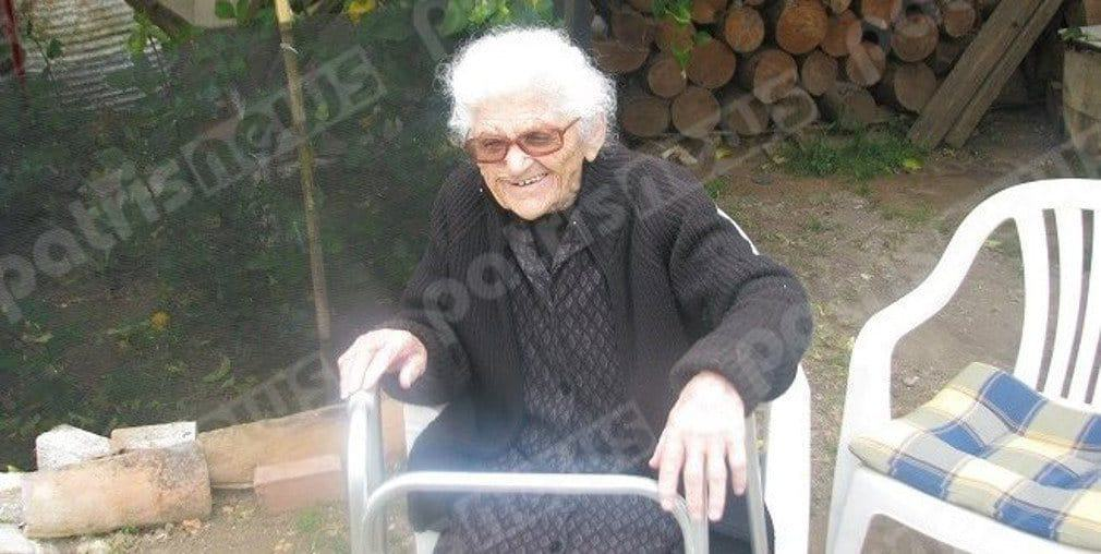112-year-old Greek lady, now oldest woman in the world 2