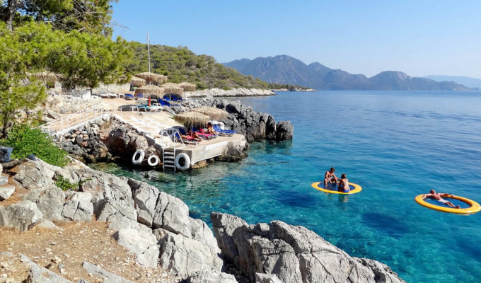 Saronic Gulf beaches